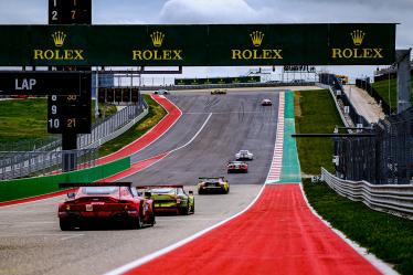 Green Flag, - Lone Star Le Mans - Circuit of the Americas - Austin - USA