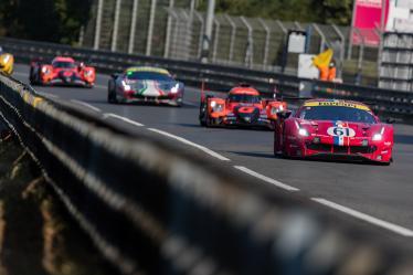 #61 LUZICH RACING / CHE / Ferrari 488 GTE EVO - 24h of Le Mans - Circuit de la Sarthe - Le Mans - France -