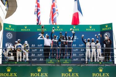LMP2 Podium -  24h of Le Mans - Circuit de la Sarthe - Le Mans - France -