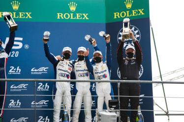 Podium - #31 PANIS RACING / FRA / Oreca 07 - Gibson - 24h of Le Mans - Circuit de la Sarthe - Le Mans - France -