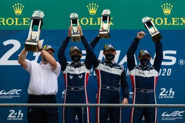 Podium - #22 UNITED AUTOSPORTS / USA / Ligier JSP217 - Gibson -  24h of Le Mans - Circuit de la Sarthe - Le Mans - France -