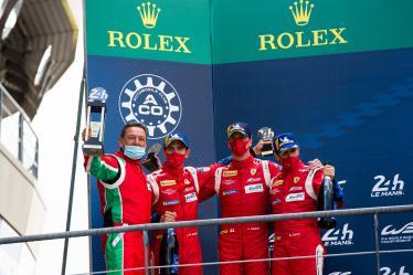 LM GTE PRO Podium - #51 AF CORSE / ITA / Ferrari 488 GTE / James Calado (GBR) / Alessandro Pier Guidi (ITA) / Daniel Serra (BRA) - 24h of Le Mans - Circuit de la Sarthe - Le Mans - France -