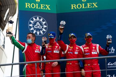 #51 AF CORSE / ITA / Ferrari 488 GTE / James Calado (GBR) / Alessandro Pier Guidi (ITA) / Daniel Serra (BRA) - 24h of Le Mans - Circuit de la Sarthe - Le Mans - France -