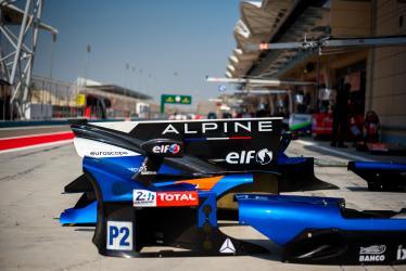 Set Up - #36 SIGNATECH ALPINE MATMUT / FRA / Alpine A470 - Gibson -- 8 hours of Bahrain - Bahrain International Circuit - Sakhir - Bahrain