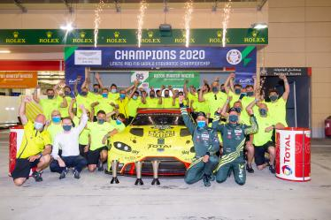 LMGTE PRO FIA WORLD ENDURANCE CHAMPIONSHIP - #95 ASTON MARTIN RACING / GBR / Aston Martin Vantage AMR -- 8 hours of Bahrain - Bahrain International Circuit - Sakhir - Bahrain