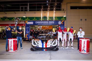 LMGTE AM FIA ENDURANCE TROPHY - #83 AF CORSE / ITA / Ferrari 488 GTE EVO - - 8 hours of Bahrain - Bahrain International Circuit - Sakhir - Bahrain