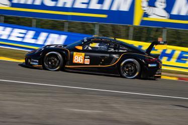 #86 GR RACING / GBR / Porsche 911 RSR (991) - Official Prologue - Spa-Francorchamps - Stavelot - Belgium -