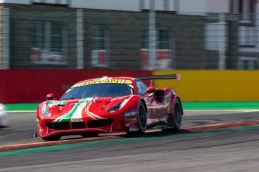 #51 AF CORSE / ITA / Ferrari 488 GTE EVO -Total 6h of Spa-Francorchamps - Spa-Francorchamps - Stavelot - Belgium -