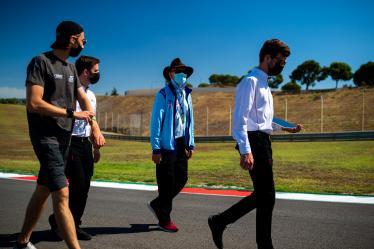 Drivers Track Walk -GLICKENHAUS RACING / Jim Glickenhaus (USA) - 8 hours of Portimao - Autodromo Internacional do Algarve - Portimao - Portugal -
