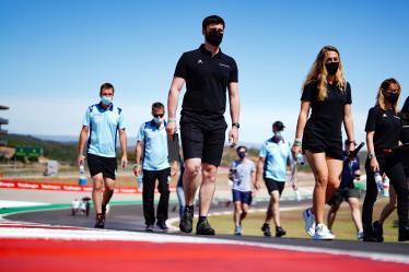 Drivers Track Walk -#1 RICHARD MILLE RACING TEAM / FRA / Oreca 07 - Gibson - Tatiana Calderon (COL) / Sophia Floersch (GER) / Beitske Visser (NLD) - 8 hours of Portimao - Autodromo Internacional do Algarve - Portimao - Portugal -