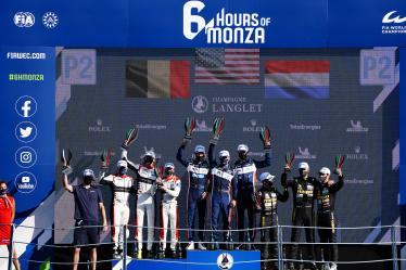 Podium - 6 hours of Monza - Autodromo Nazionale Monza - Monza - Italy -  6 hours of Monza - Autodromo Nazionale Monza - Monza - Italy -