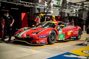 #52 AF CORSE / ITA / Ferrari 488 GTE EVO - Le Mans Test Day 2021 - Circuit de la Sarthe - Le Mans - France -