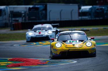 #72 HUB AUTO RACING / TPE / Porsche 911 RSR 19 -  Le Mans Test Day - Circuit de la Sarthe - Le Mans - France -