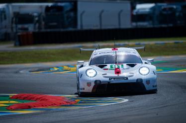 #91 PORSCHE GT TEAM / DEU / Porsche 911 RSR 19 -  Le Mans Test Day - Circuit de la Sarthe - Le Mans - France -