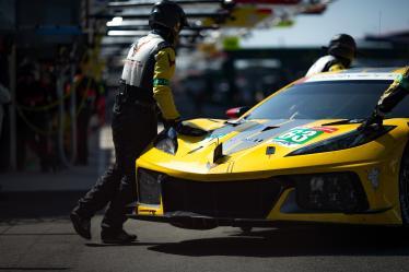 #63 CORVETTE RACING / USA / Chevrolet Corvette C8.R - Le Mans Test Day - Circuit de la Sarthe - Le Mans - France -