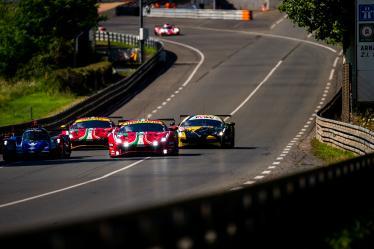 #51 AF CORSE / ITA / Ferrari 488 GTE EVO - Le Mans Test Day - Circuit de la Sarthe - Le Mans - France -