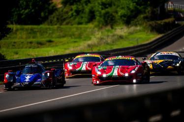 #51 AF CORSE / ITA / Ferrari 488 GTE EVO - #70 REAL TEAM RACING / CHE / Oreca 07 - Gibson -  #52 AF CORSE / ITA / Ferrari 488 GTE EVO - #66 JMW MOTORSPORT / GBR / Ferrari 488 GTE EVO - Le Mans Test Day - Circuit de la Sarthe - Le Mans - France -