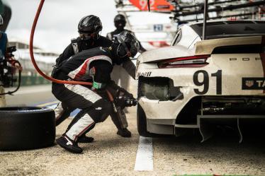 #91 PORSCHE GT TEAM / DEU / Porsche 911 RSR 19 -  24h of Le Mans 2021 - Circuit de la Sarthe - Le Mans - France -
