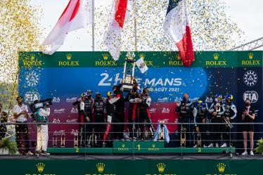 Overall Podium - 24h of Le Mans - Circuit de la Sarthe - Le Mans - France -