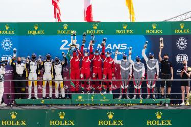 LM GTE Pro - Podium - 24h of Le Mans - Circuit de la Sarthe - Le Mans - France -
