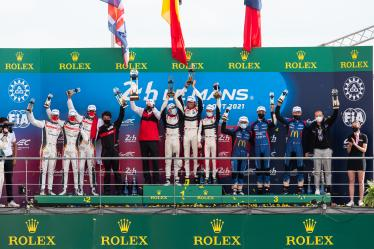 LMP2 - Podium - 24h of Le Mans - Circuit de la Sarthe - Le Mans - France -