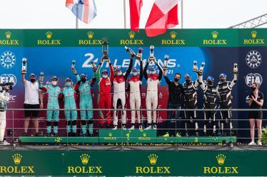 LM GTE Am - Podium - 24h of Le Mans - Circuit de la Sarthe - Le Mans - France -