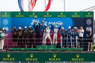 LMP2 Pro/Am - Podium - 24h of Le Mans - Circuit de la Sarthe - Le Mans - France -