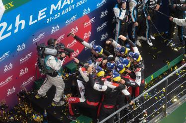 PODIUM,  24h of Le Mans 2021 - Circuit de la Sarthe - Le Mans - France -