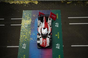 #7 TOYOTA GAZOO RACING / JPN / Toyota GR010 - Hybrid - Hybrid - 24h of Le Mans 2021 - Circuit de la Sarthe - Le Mans - France -