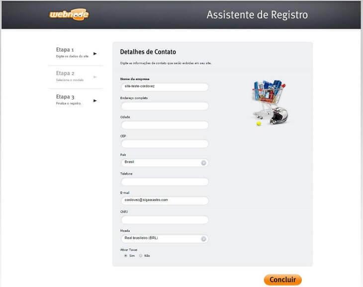 Sites de para vendas online