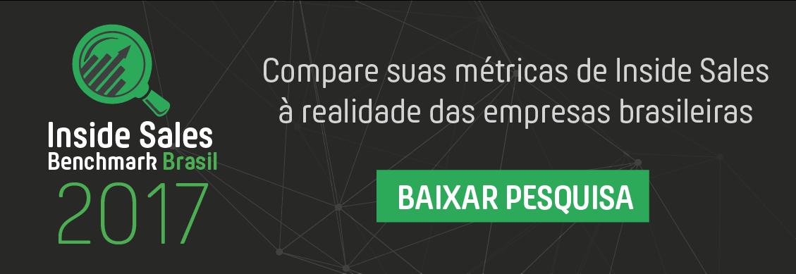 insides sales benchmark brasil