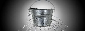 balde de agua - churn