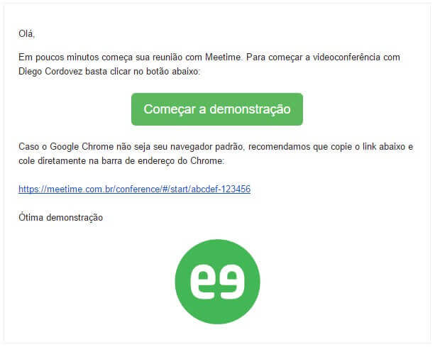 Email-Link exemplo