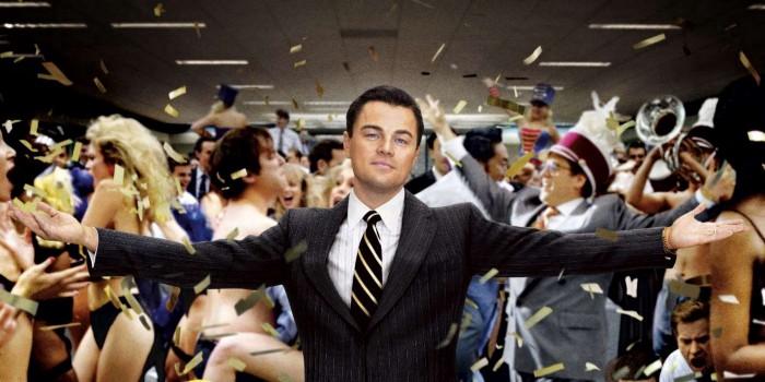 Imagem do filme O Lobo de Wall Street