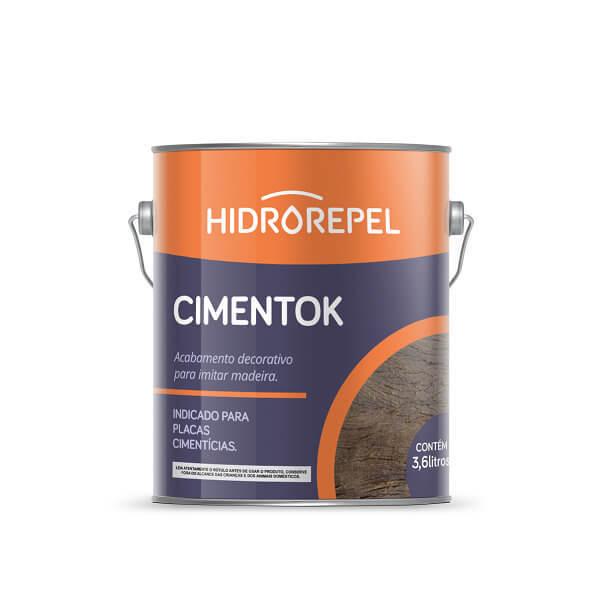 Cimentok 3,6 litros Hidrorepel - Gel Envelhecedor - Imbuia