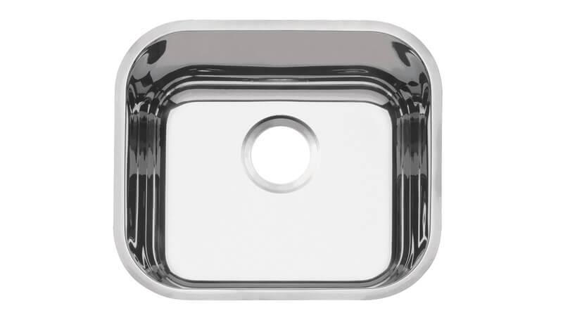 Cuba em aço inox polido 40x34 cm - Tramontina