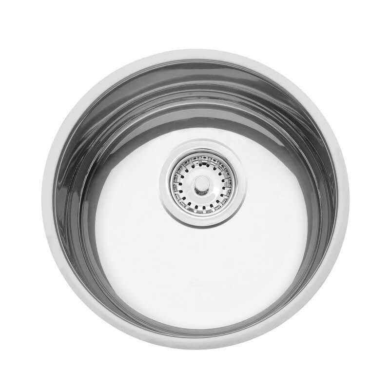 Cuba em aço inox polido Ø30 cm - Tramontina