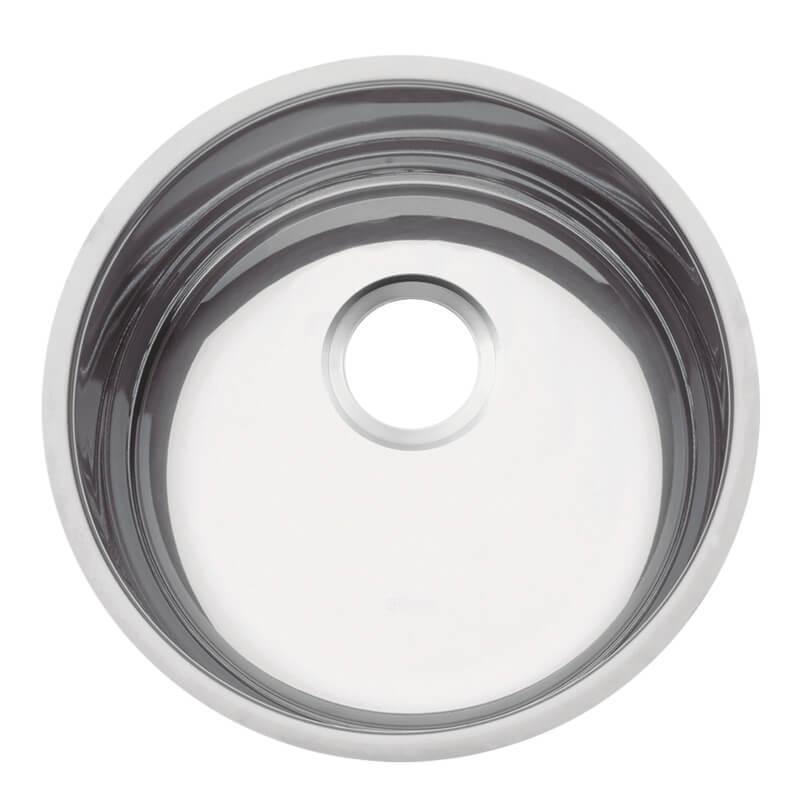 Cuba Redonda em aço inox polido Ø35 cm - Tramontina