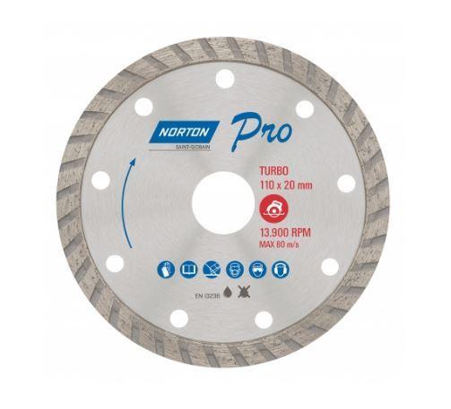 Disco Diamantado 110mm Turbo PRO - NORTON