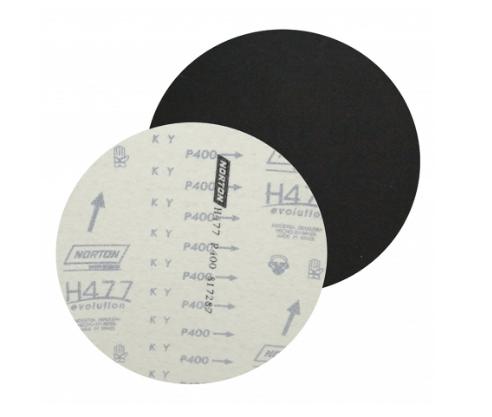Lixa Disco Com Pluma H-477 - Norton [Caixa C/ 100 Unidades] - 220