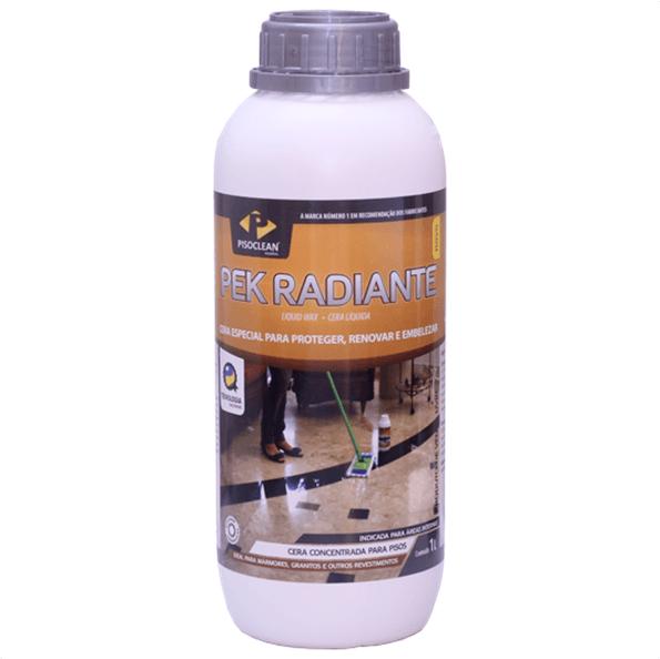 Pek Radiante - 1 Litro - Pisoclean
