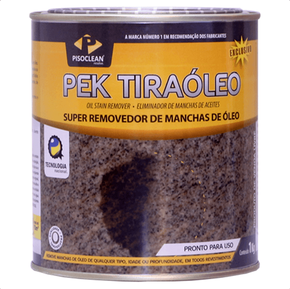 PEK Tira Óleo - 1kg - Pisoclean