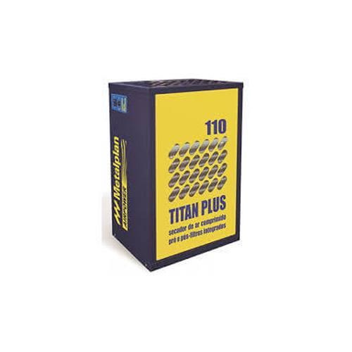 Secador de Ar Comprimido - TITAN 110 Plus - Metalplan