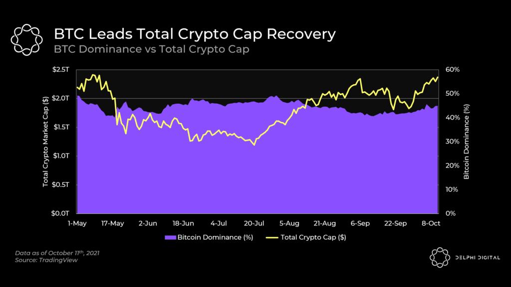 BTC Leading The Way, Polygon Transactions Drop