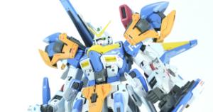 【GBWC2018】MG V2ガンダムをアサルトバスターに改造 -完成編-