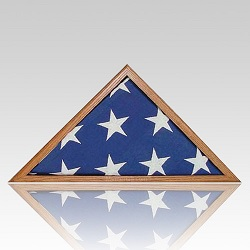The American flag should be stored neatly folded and in a location where it will not be soiled
