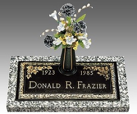 A headstone is easy and quick to purchase in most cases