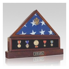 The Presidential Flag Display case offers a unique way to pay tribute to your hero