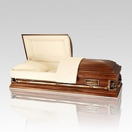 Wood caskets will offer a peaceful and dignified final remembrance