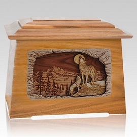 A wood cremation urn can create a natural and unforgettable final remembrance